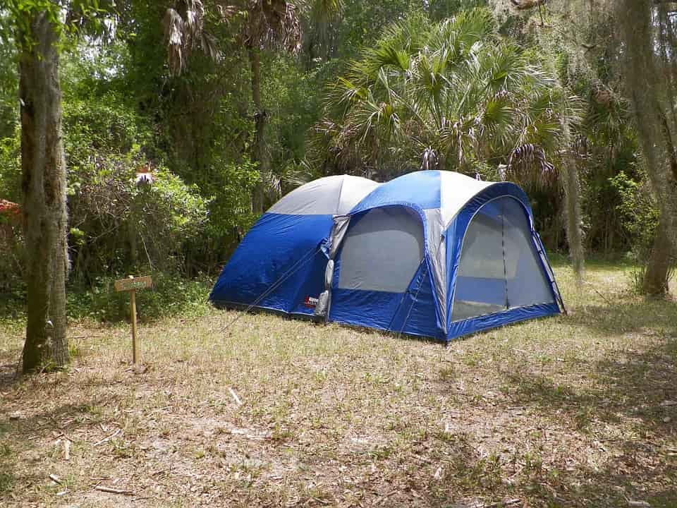 Chọn địa điểm cắm trại