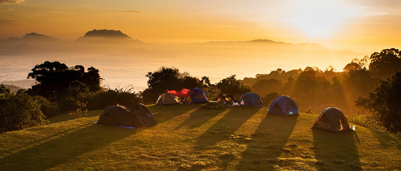 lều cắm trại dã ngoại ấn tượng