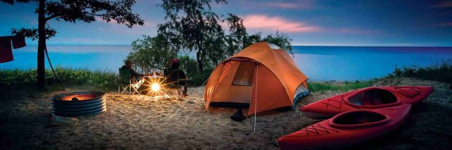 Dựng lều cắm trại đơn giản