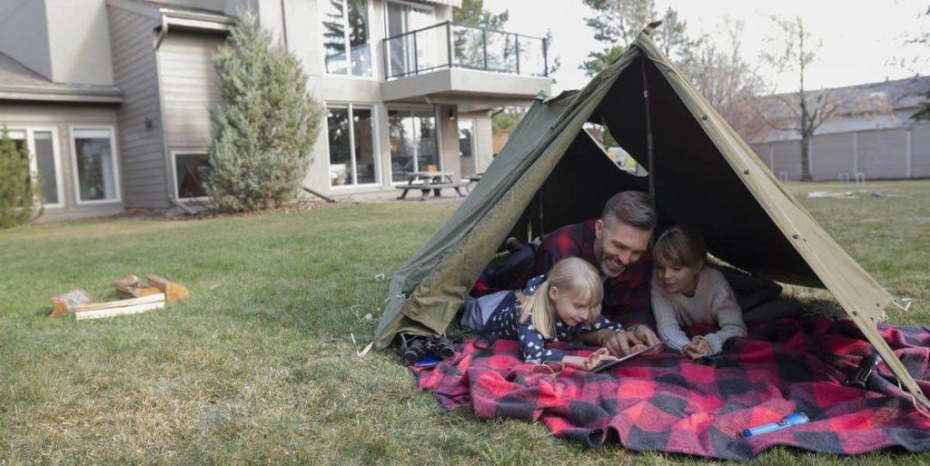 camping tại nhà