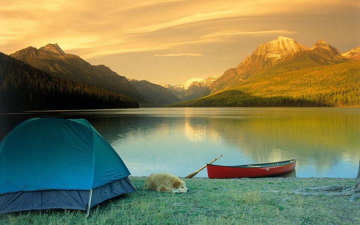 Xác định địa điểm cắm trại