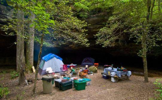 Chuẩn bị đồ dùng cắm trại Ba Vì