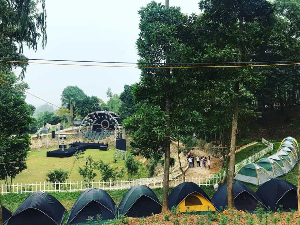 Sơn Tinh Camp, Ba Vì