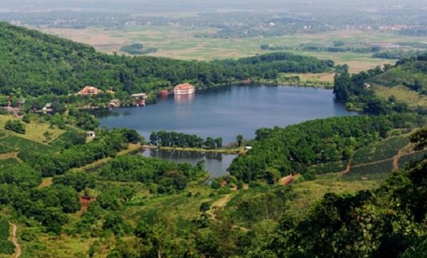 Hồ Tiên Sa, Ba Vì