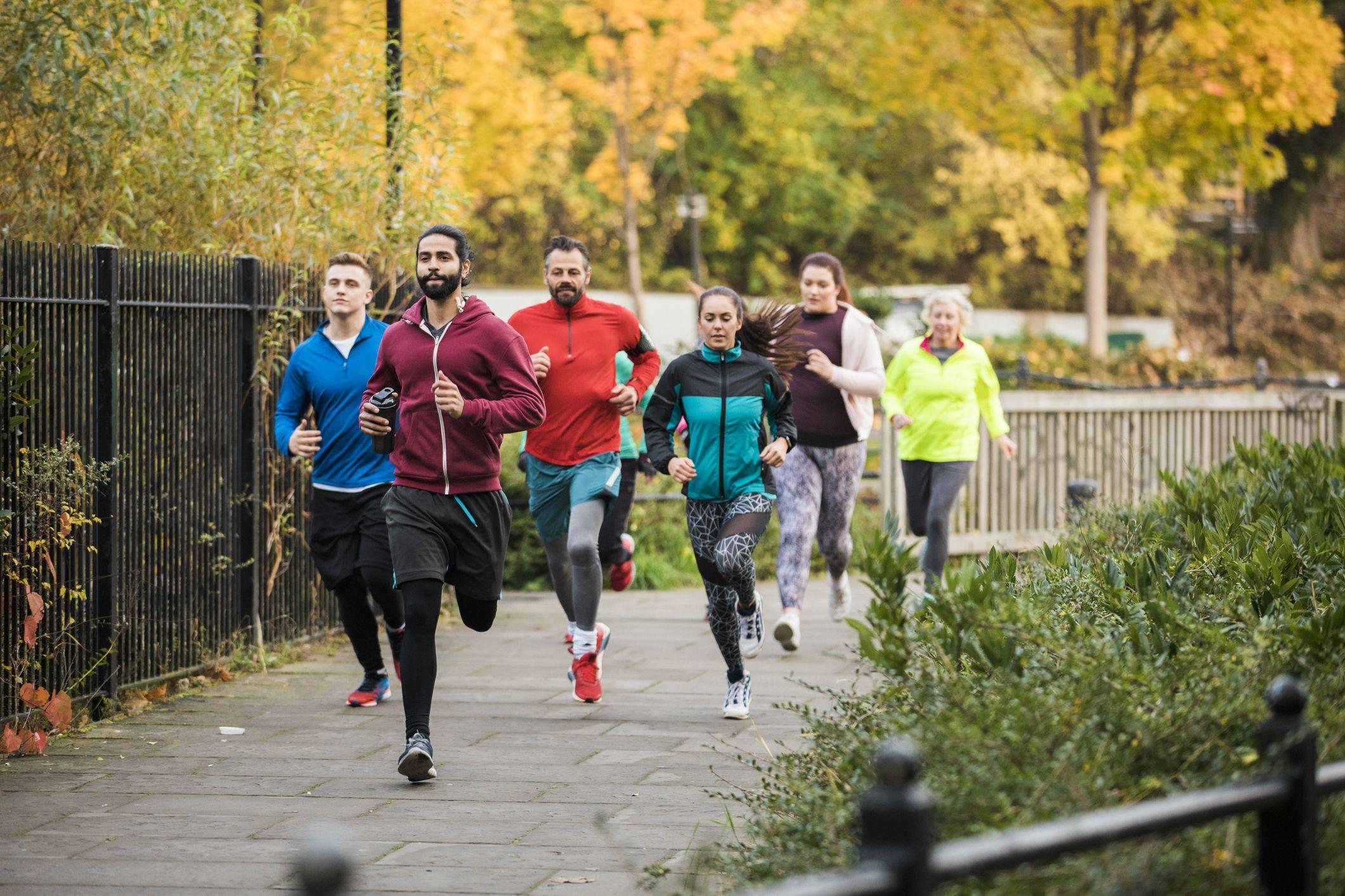 Bài tập chạy bộ giảm cân trong 8 tuần