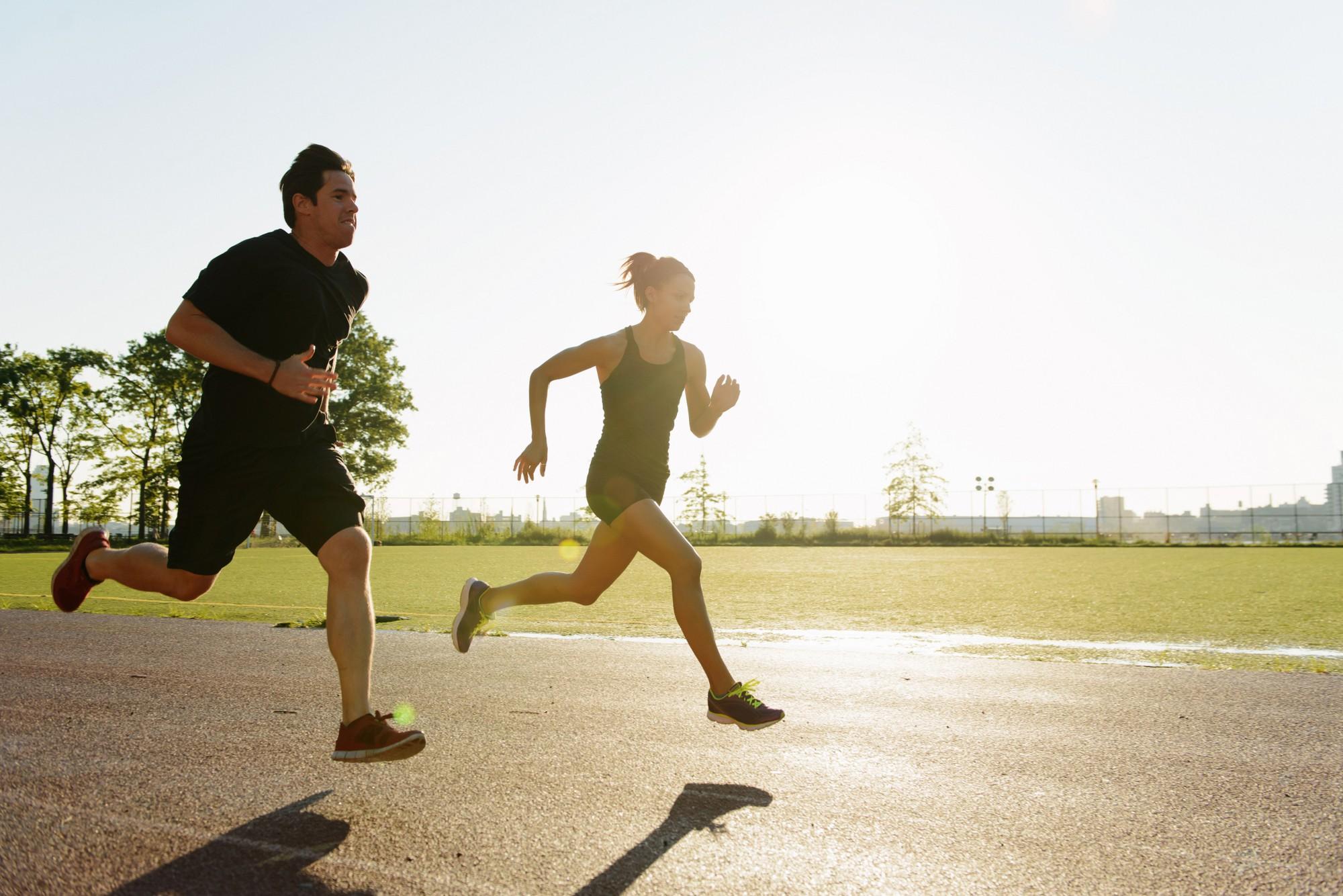 Bài tập chạy bộ giảm cân trong 1 tháng