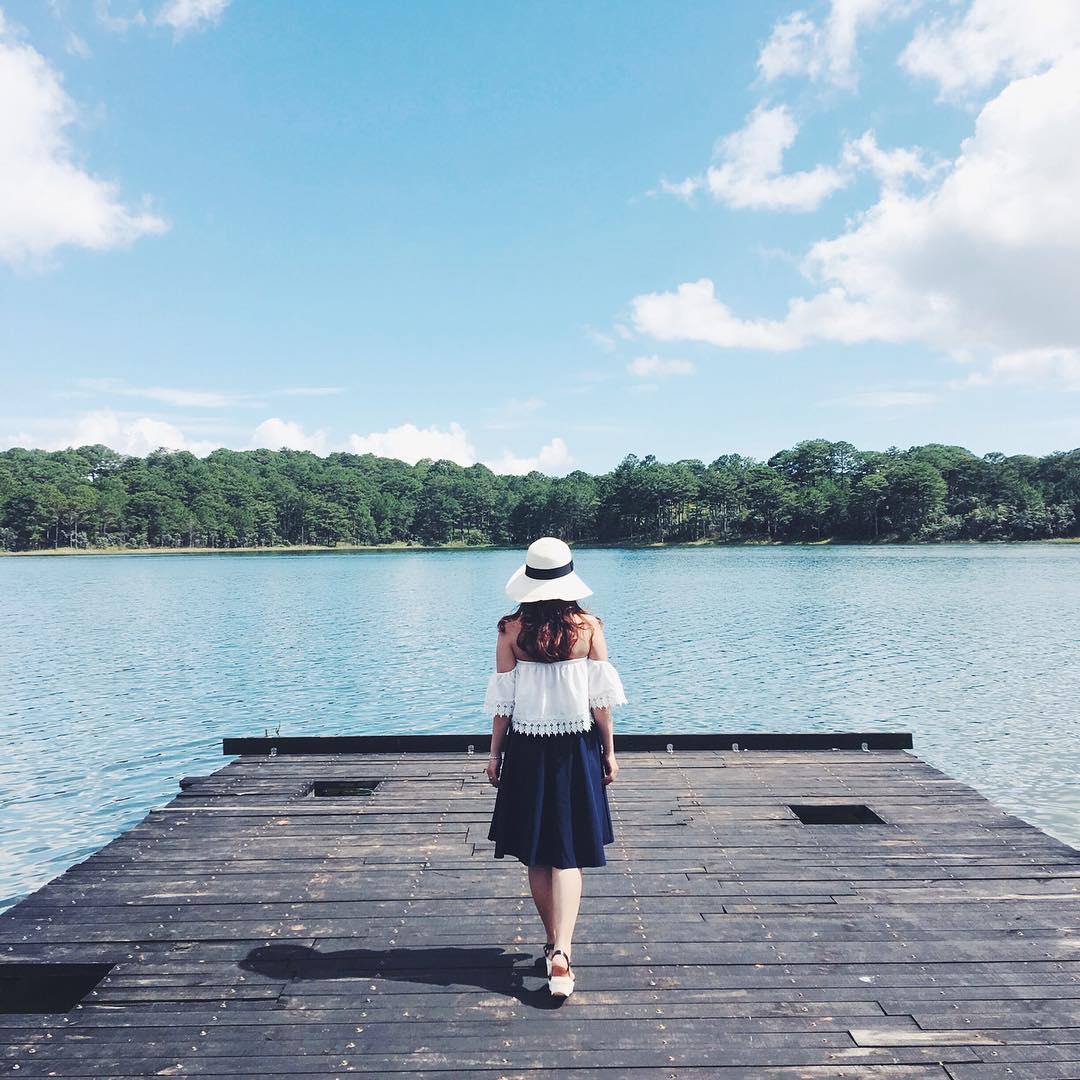 Hồ Tuyền Lâm địa điểm cắm trại ở Đà Lạt thu hút