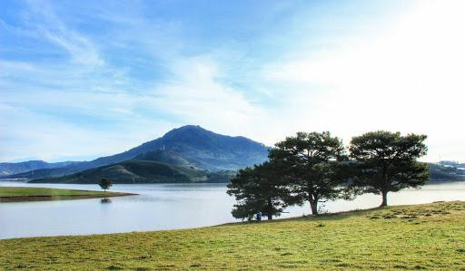 Hồ Dankia- Suối Vàng địa điểm cắm trại nên đến